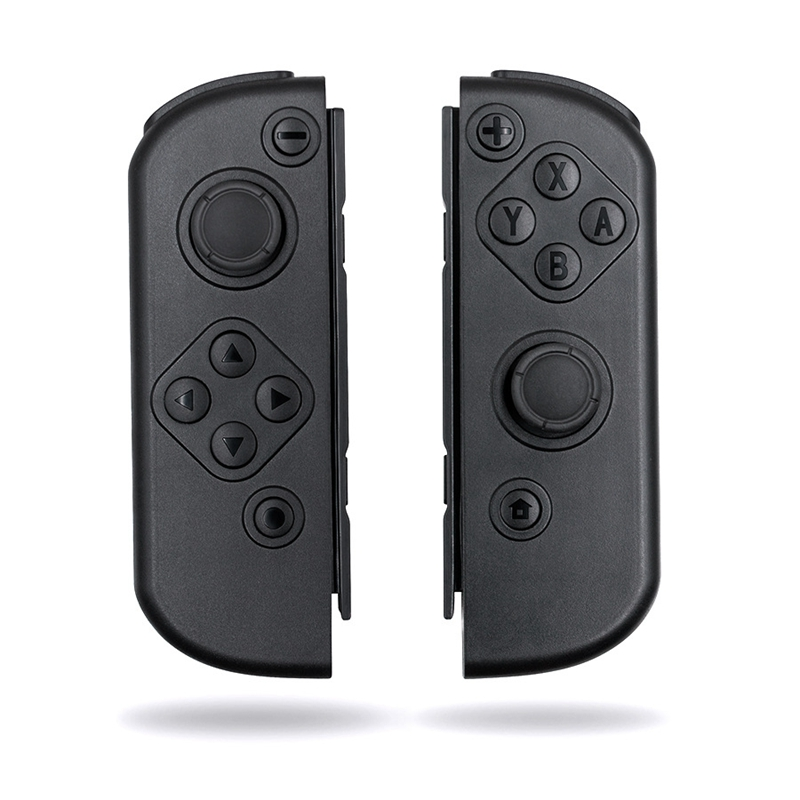 Soft Press Grip Black Controller Housing W/ Full Set Buttons DIY Replacement Shell Case for Nintendo Switch Joy Con|  - title=