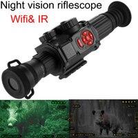 Digital Night Vision Riflescope Trail Optics Scope Night-aiming Digital Wifi & IR Camera Hunting Telescope Tactical NV monocular