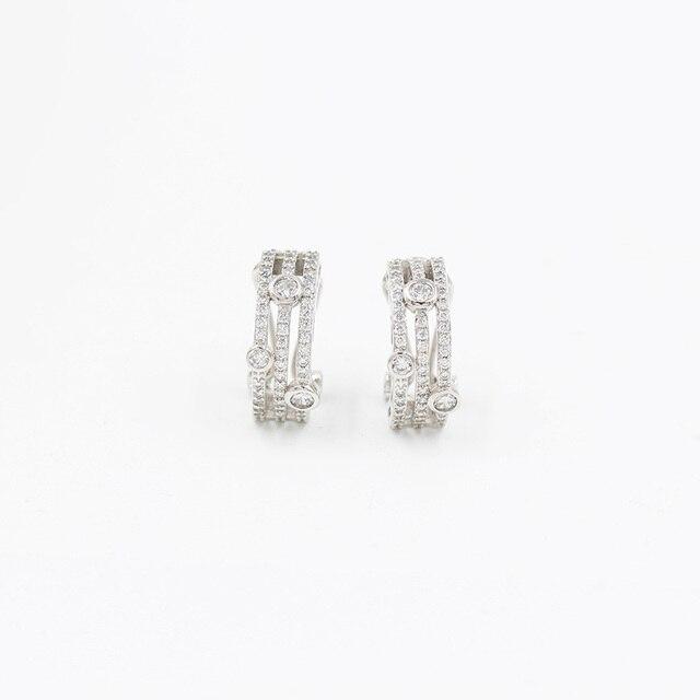 פתיל דולי חדש טאסל עגילי גבירותיי אופנה חתונה האצולה עגילי 585 רוז זהב טבעי זירקון בוהמי עגילים