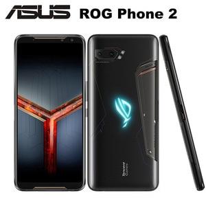"Image 2 - Oryginalny telefon ROG 2 Asus ROG telefon II ZS660KL telefon komórkowy 8GB 128GB Snapdragon855 + OctaCore 6.59 ""6000mAh 48MP NFC Android 9.0"