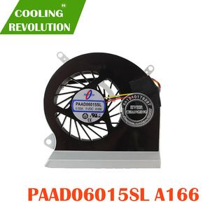 Image 2 - Ventilador de refrigeração cpu compatível com msi ge60 16ga 16gc, série notebook paad06015sl 0.55a 5vdc a166 3pin