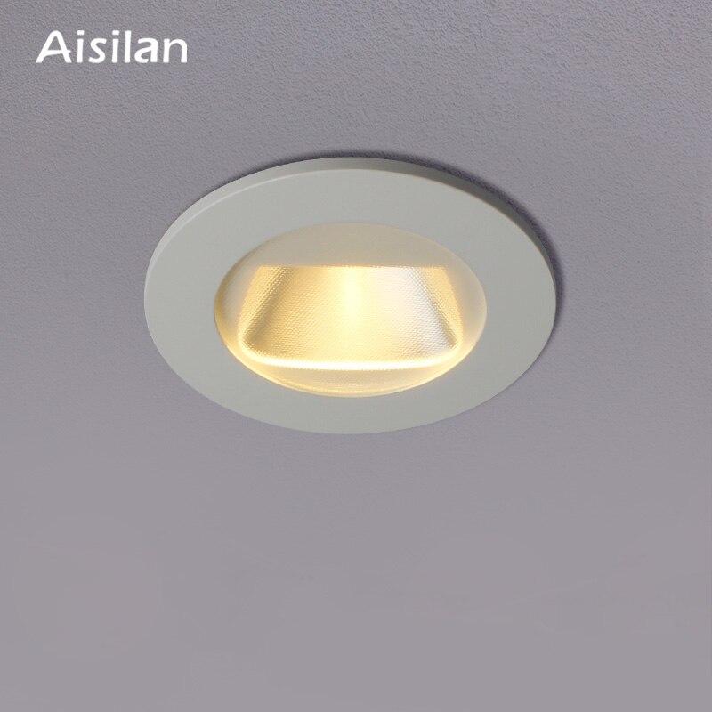 Aisilan светодиодный 7 Вт поляризационный светильник для мытья стен встроенный, потолочный светильник магазин, отель, коммерческое освещение в...