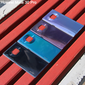 Image 3 - Huaweiฝาหลังแบตเตอรี่เดิมสำหรับHUAWEI Mate 30 Pro 5G Mate30 ด้านหลังฝาครอบด้านหลังป้องกันโทรศัพท์กรณี