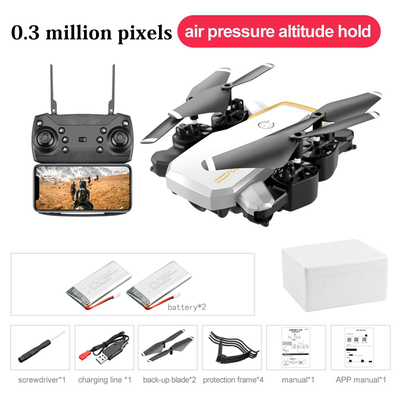 LF609 Mini Drone 1080P 4K HD Camera Quadcopter With Optical Flow Dual Cameras Long Battery Life Profissional Drones Kid Toy Gift