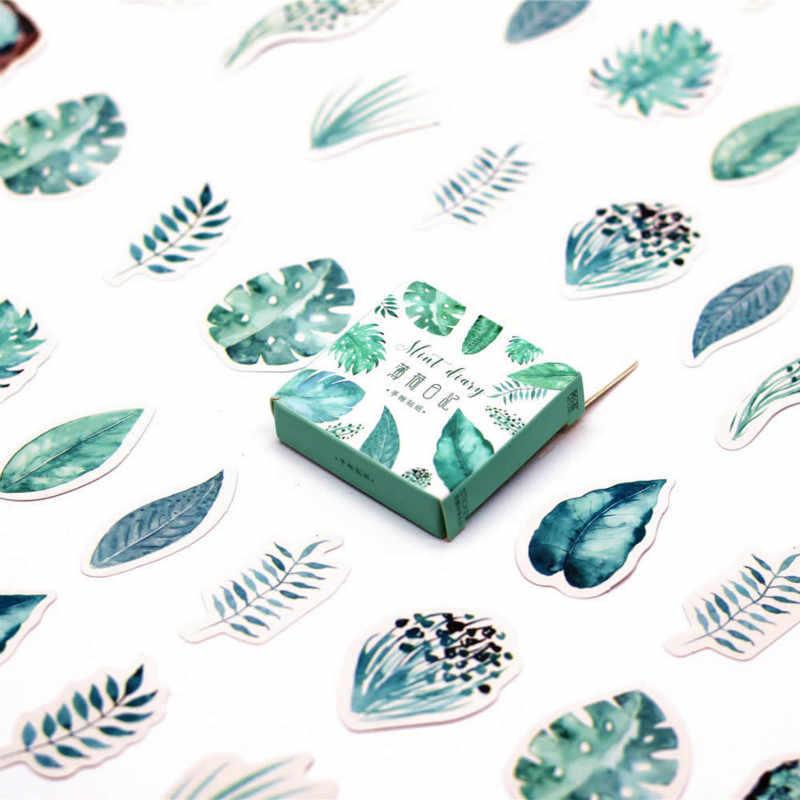 Adesivos de parede impressora kawaii, 45 pçs/caixa, para crianças, meninos, meninas, quarto das crianças, decoração de casa