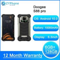 Прочный телефон DOOGEE S88 Pro, IP68/IP69K, аккумулятор 10000 мАч, светодиодный светильник, Восьмиядерный процессор Helio P70, 6 ГБ ОЗУ 128 Гб ПЗУ, Android 10