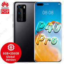 Versi Global Huawei P40 Pro 5G Ponsel 6.58 Inci Kirin 990 8GB 256GB Android 10 Bluetooth 5.1 di Layar WIFI 6 SA/NSA(China)
