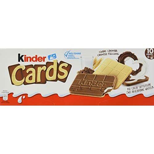 Kinder Cards Vorratspack, 20er Pack (20 X 128 G Packung)
