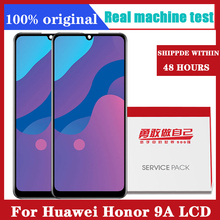 オリジナル6.3インチ液晶huawei社の名誉9A lcdディスプレイタッチスクリーンデジタイザアセンブリのためのhuawei社の名誉9A MOA LX9Nディスプレイ