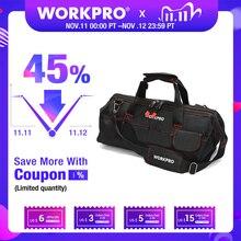 WORKPRO сумка для инструментов, Портативная водонепроницаемая сумка для хранения инструментов