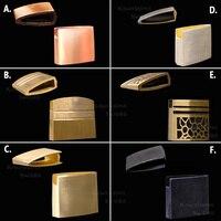 Habaki-יפני קטאנה Habaki פליז חומר עבור סמוראי חרב קטאנה/אקיזאשי/Tanto-3.2cm/2.7cm