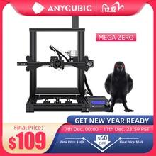 ANYCUBIC Mega Bằng Không Tự Làm 3D Máy In 220X 220X250 Để Bàn 3d In Giàn Phơi Khung Kim Loại Impresora Độ Chính Xác Cao Impressora