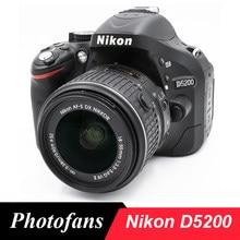 Nikon – appareil photo D5200 DSLR, kit avec objectif 18-55mm