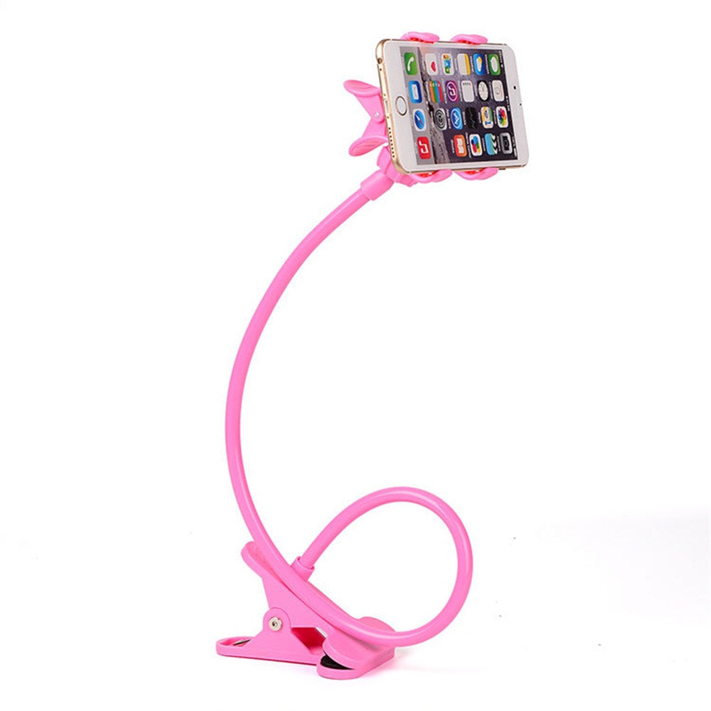 2019 New Universal Lazy Bracket Phone Selfie Holder Snake-like Neck Bed Mount Anti-skid 360 Degree Rotation Flexible Stand #H20