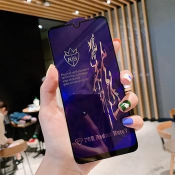 10pcs/lot Full Cover Tempered Glass For Xiaomi Redmi Note 7 k30proProtective Glass Redmi 6 Mi 8 lite Mi 9 SE Screen Protector