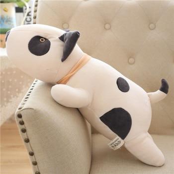 Bull Terrier Dog Plush Toy Kawaii Soft Stuffed Cushion Lovely Dog Shape Pillow For Children Birthday Gift 55cm stephanie bull shape of veronica