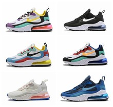 2019 Air max 270 React Breathable Sports Sneakers Running shoes Men Women Size EUR 36-45(China)