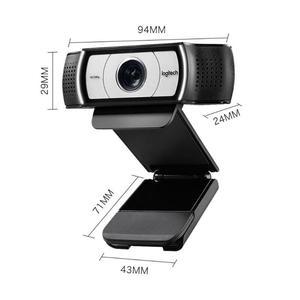 Image 5 - מקורי Logitech C930c HD 1080P מצלמת Webcam החכם עם כיסוי עבור מחשב USB וידאו מצלמה 4 זמן דיגיטלי זום מצלמת אינטרנט