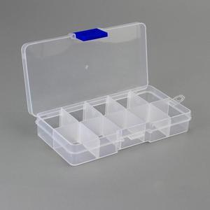 10 прозрачные сетки съемный ящик для хранения может быть собран пластиковый чехол для ювелирных изделий отделочная коробка Экологичная кор...