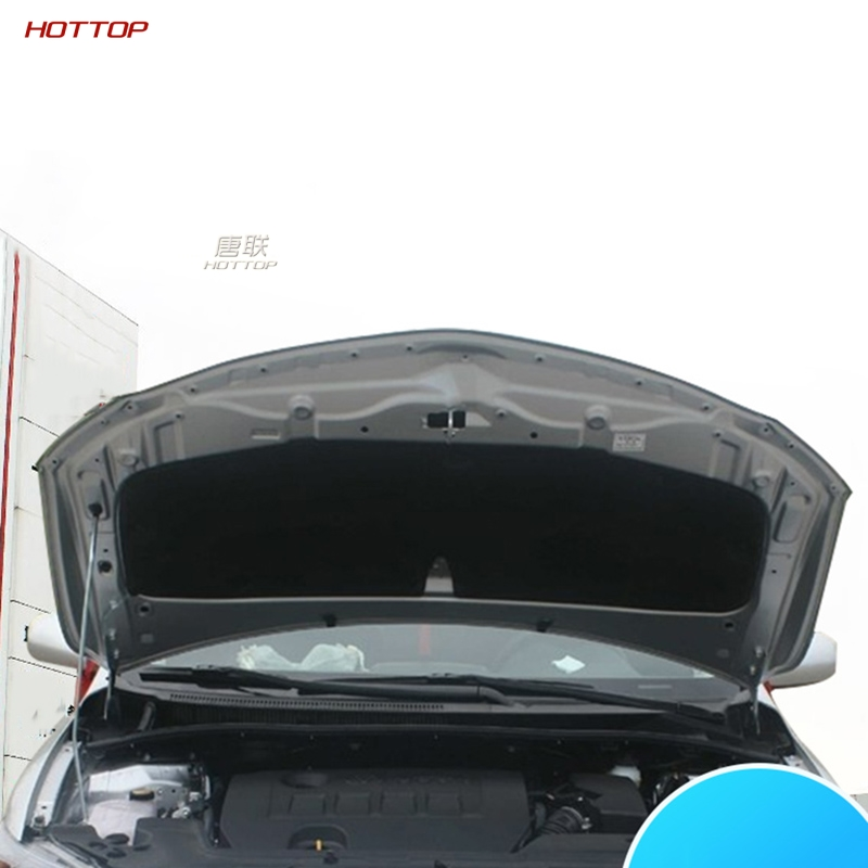 PET Black Front Engine Anti-noise Sound Insulation Cotton Heat Closed Cell Foam For Toyota Corolla 2007-2013