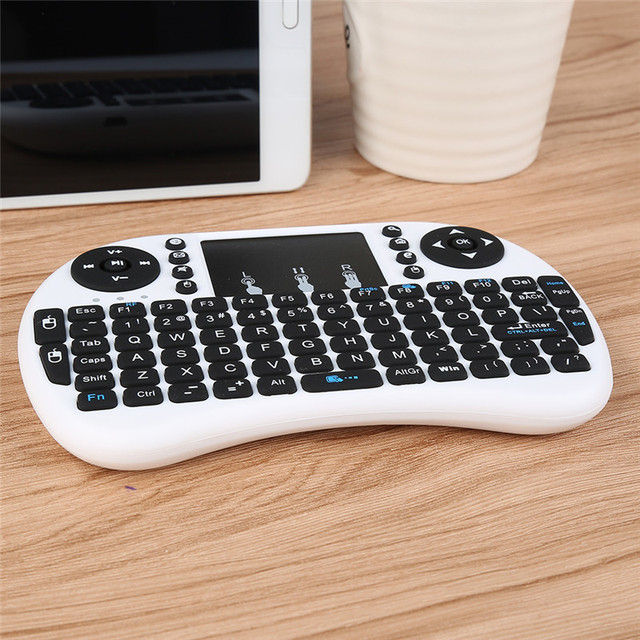 Portable Keyboard 2.4G Mini Keyboard Handheld High Sensitive Smart Touchpad Keyboard Air Mouse For Android Smart TV Set-Top Box 3