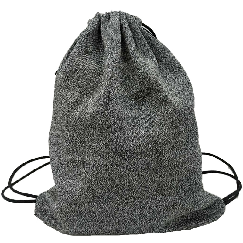 Draw String Backpack With Travel Light Bean Bag Folding Large Backpack Bags Cut-Proof Cloth Protection Bag