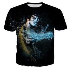 Bruce lee t camisa masculina/feminina 3d impresso t-shirts casual harajuku estilo tshirt streetwear topos