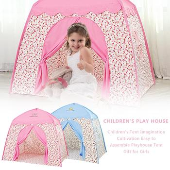 Children's Playhouse Tent Imagination Cultivation Easy To Assemble Playhouse Tent Gift For Girls