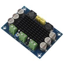 1 pcs blue backplane ABS + metal monaural 100W digital amplifier board TPA3116D2 digital audio amplifier board 12-26V 7.9*5.4* backplane board for 46c7919 46c7918 x3250m2