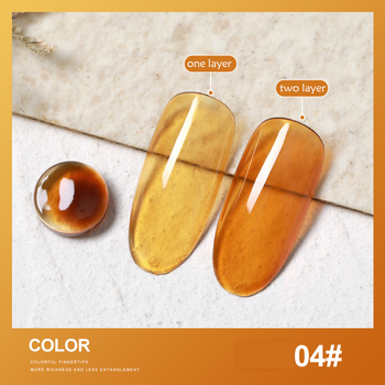 SKVP 8ML Dull Color Gel Polish Translucent  Manicuring UV LED Crystal Gel Soak Off Jelly UV Gel Nail Polish Semi Permanent 17