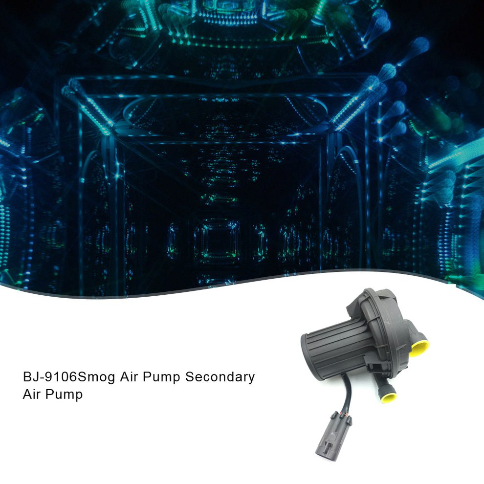 BJ-9106 New Secondary Smog Air Pump For Buick Chevy Cadillac GMC Oldsmobile 12574379 Portable Durable