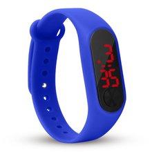 Children Watch Led Sports Children Watches PU Electronic Digital Wristwatch Bracelet Wristwatches For Boys And Girls