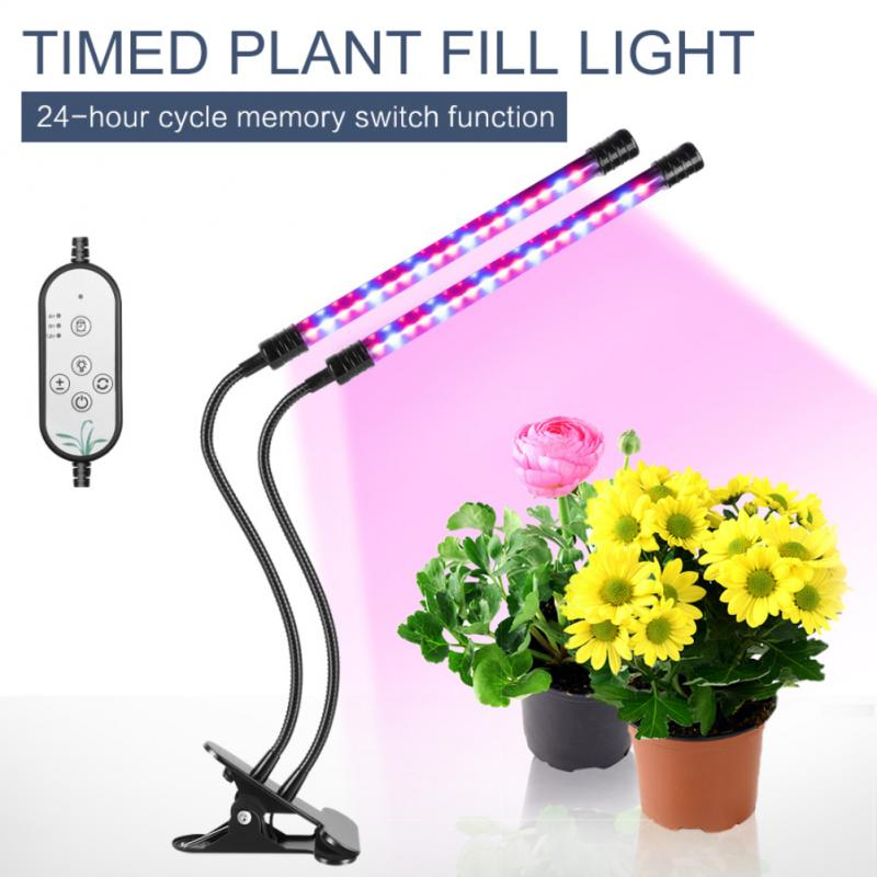 Full Spectrum USB Power Supply LED Multi-head Waterproof Plant Growth Light For Indoor Plants