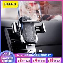 Baseus Qi Drahtlose Auto Ladegerät Für Smart Telefon Auto Drahtlose Ladegerät 10W Schnelle Lade Auto Air Vent Halterung Telefon halter