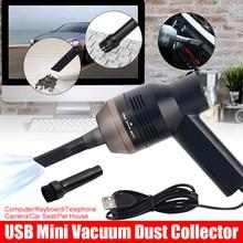 Mini aspirateur Portable USB, collecteur de poussière, Kits de nettoyage à main, outils pour maison, voiture, ordinateur, clavier, maison d'animaux