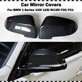 Оригинальный стиль углеродное волокно крышка зеркала на замену для BMW 1 серии 120i 125i M135i M140i 2012-2018 F20 F21 крышка заднего зеркала