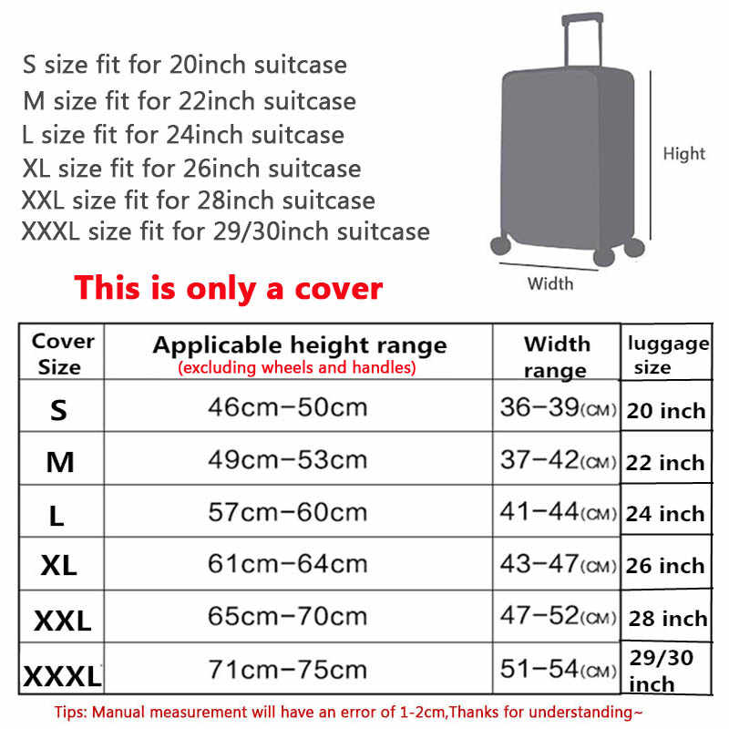 Wehyahกันน้ำกันน้ำสำหรับกระเป๋าเดินทางPVCครอบคลุมกระเป๋าเดินทางTravel Accessorieฝุ่นรถเข็นZY137