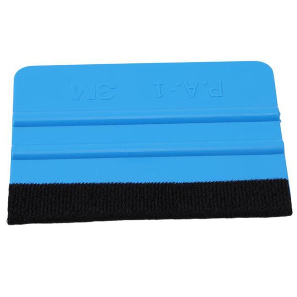 Soft Plastic Scraper Felt Edge Squeegee Board For Car Vinyl Application Wrap Tool Scraper Decal  Applicator Sticker Tool