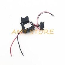 7,2 V 24 V 16A interruptor de batería de litio Taladro Inalámbrico Control de velocidad interruptor de disparo de taladro eléctrico con pequeña luz FA2 16/1WEK