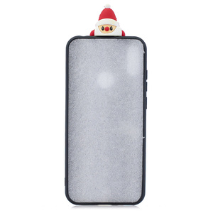 Image 4 - Santa Claus Nette Abdeckung Telefon Fall Für Huawei Y6 Y7 Y5 2018 Fall Für Huawei Y7 Y6 Schutzhülle Y5 y7 Y9 2019 Shell