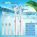 Spazzolino da Denti Elettrico Ricaricabile Sonic Spazzolino da Denti Elettrico Spazzolino da Denti per Bambini Spazzolino da Denti Igiene Orale Dental Care Pennello 5
