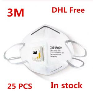 Respirator Dust-Mask Influenza Particulate PM2.5 3m 9502v 25pcs Safety-Breathing-Masks