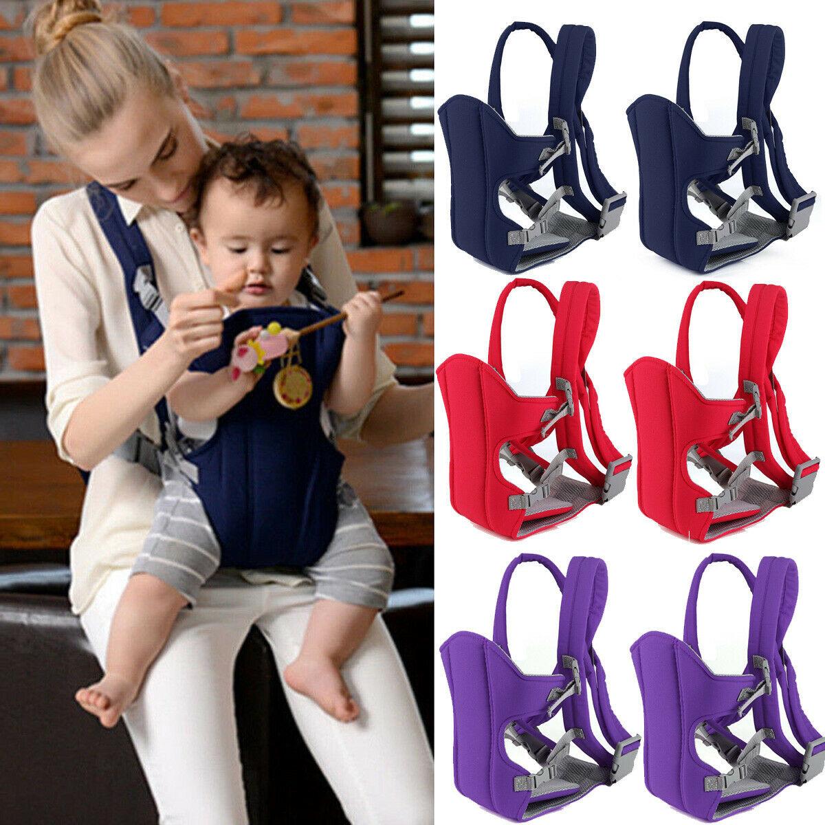 Newborn Infant  Ergonomic Adjustable Breathable Wrap Sling Backpack