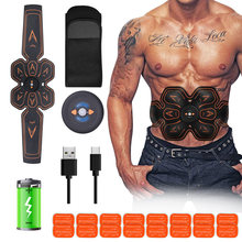 Muscle Stimulator EMS Massage Abdominal Trainer Stimulateur Musculaire Smart Fitness Equipment Home Use Health Care