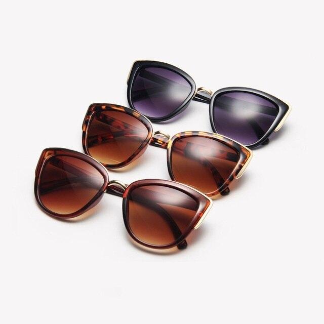 Driver Glasses Women Cat Eye Retro Designer Round Gradient Oversized Glasses Sunglasses Metal Frame Sunglasses Driver Goggles 4