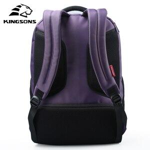 Image 3 - Kingsons Funzione di Ricarica USB Del Computer Portatile Esterno Zaino Anti furto Delle Donne di Affari Dayback Borsa Da Viaggio 15.6 pollici KS3142W