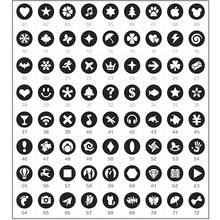 3pcs Bokeh Effect Filter Disc Discs Kit for Bokeh Masters Kit Lens Cap
