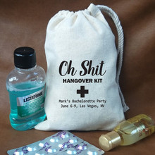 Oh Shit Kit Bags custom Hangovers kit bag bachelorette favor gift groomsman party survival  recovery bags welcome