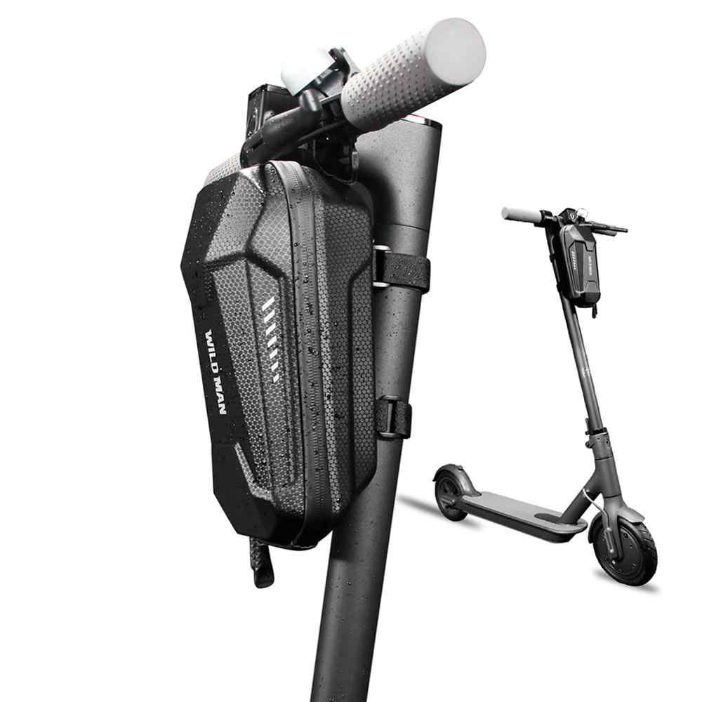 Elektrische Roller Vorderen Tasche für Xiaomi Mijia M365 Segway Ninebot ES2 Zubehör Kopf Griff Tasche Ladegerät Werkzeug Lagerung Hängenden Beutel