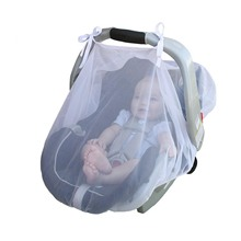 Baby Stroller Pushchair Mosquito Net Infants Carriers Crib Cradles Car Seats Cradles Netting Elasticity Breathable Mosquito Net